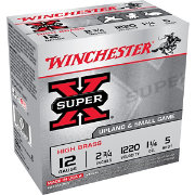 Winchester 12 GA Super-X High Brass Shotgun Ammo – 25 Shells