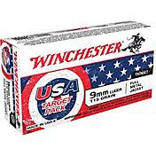 Winchester USA FMJ Handgun Ammo – 50 Rounds