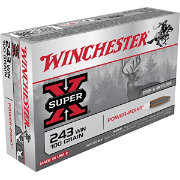 Winchester Super-X Power-Point Rifle Ammo – 20 Rounds