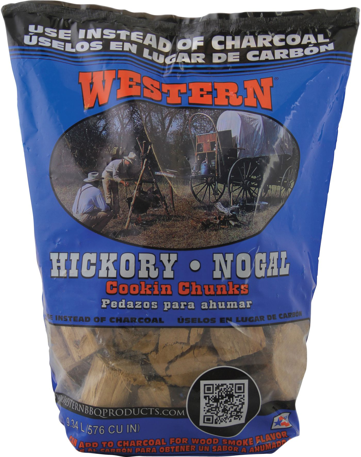 WESTERN BBQ Hickory Cooking Chunks
