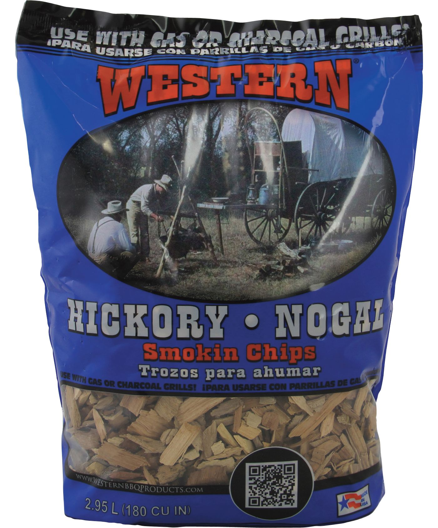 WESTERN BBQ Hickory Smoking Chips