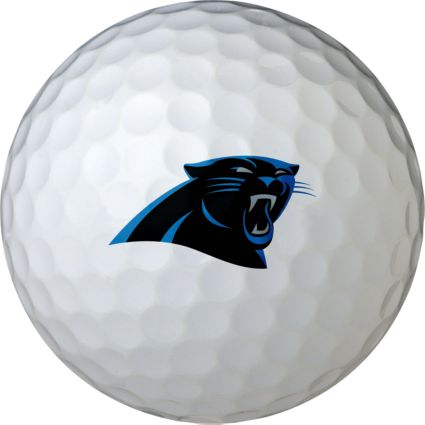 Wilson Carolina Panthers Golf Balls - 6 Pack