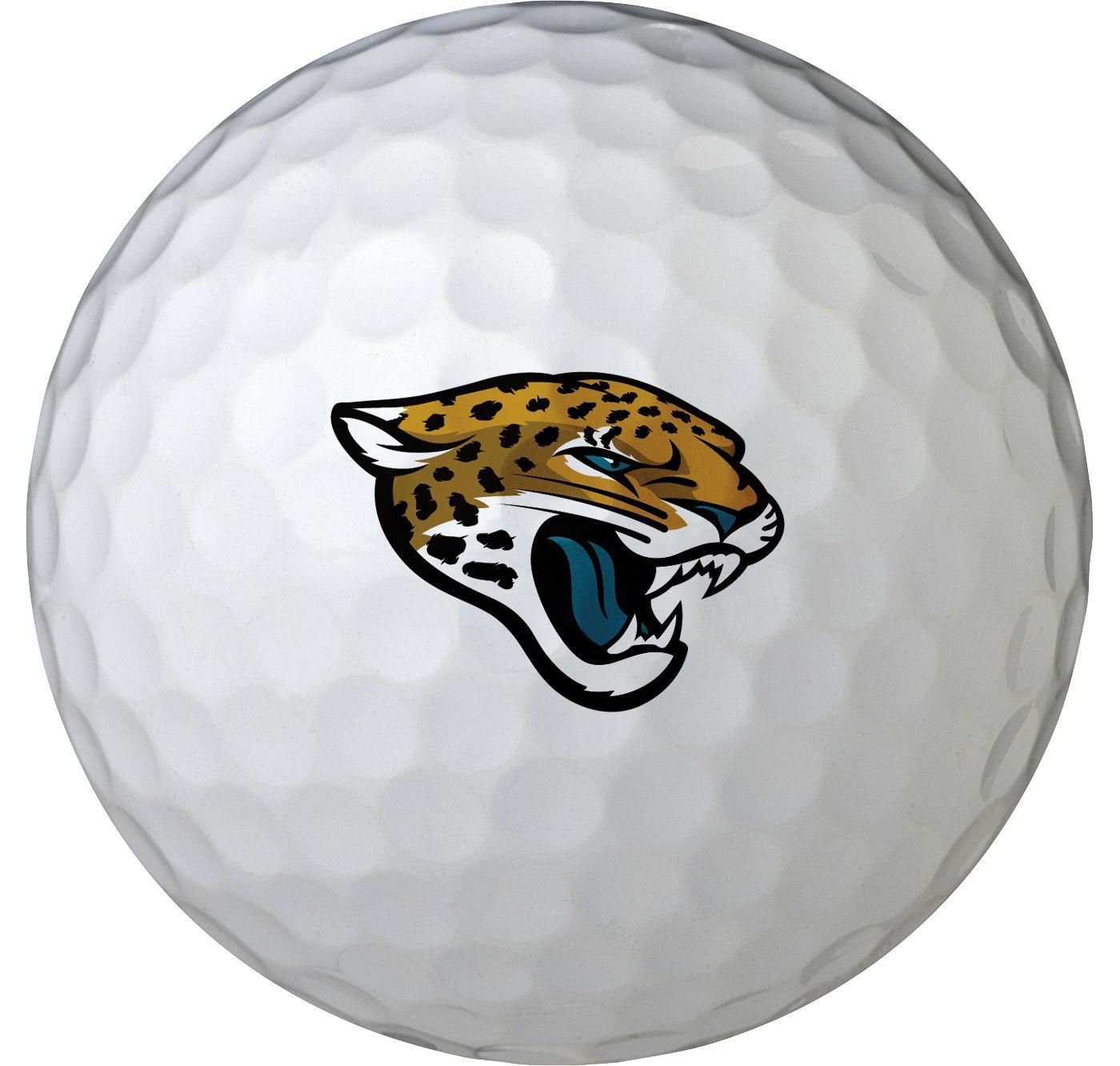 Wilson Jacksonville Jaguars Golf Balls - 6 Pack