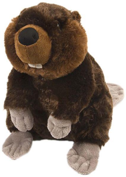 Wild Republic Stuffed Cuddlekin Beaver