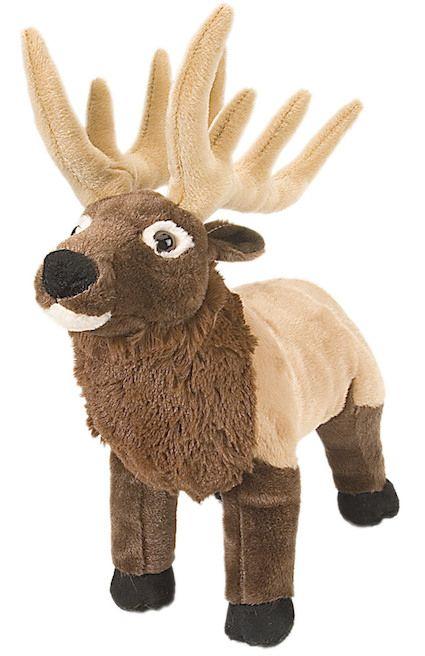Wild Republic Stuffed Cuddlekin Standing Moose