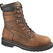 """Wolverine Men's Brek 8"""" Waterproof DuraShocks Work Boots"""