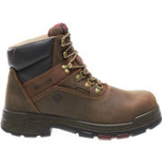 "Wolverine Men's Cabor 6"" Waterproof Composite Toe Work Boots"