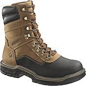 """Wolverine Men's Corsair 8"""" Waterproof Composite Toe Work Boots"""
