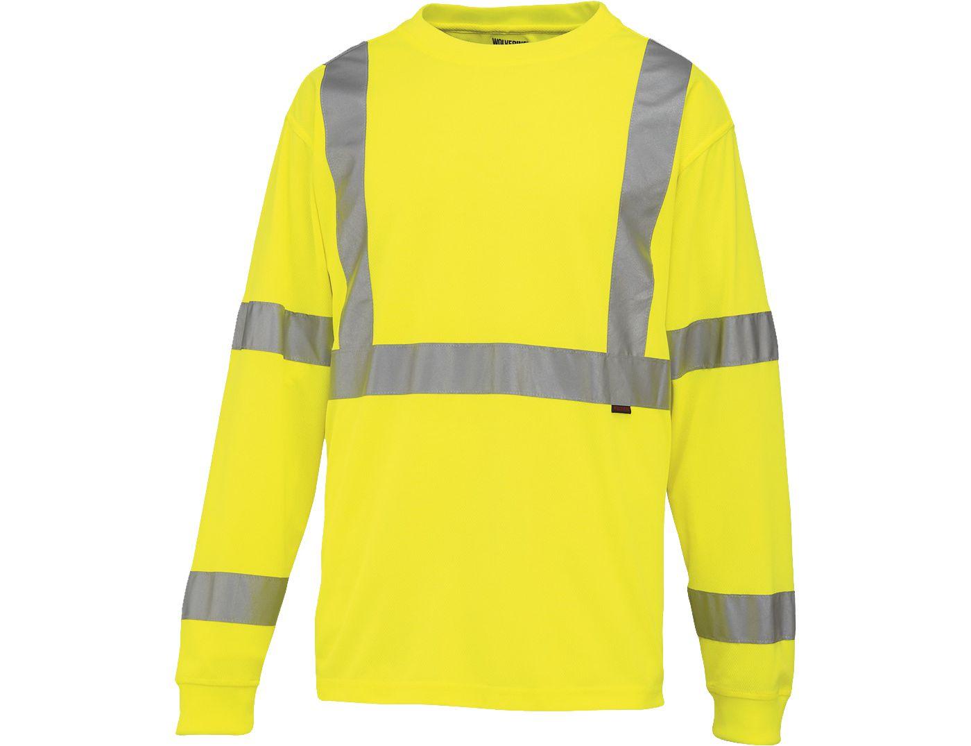 Wolverine Men's Caution Long Sleeve Shirt