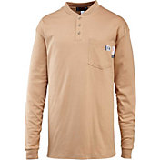 Wolverine Men's FireZero Flame Resistant Henley Long Sleeve Shirt