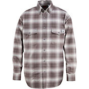Wolverine Men's FireZero Flame Resistant 7 oz. Plaid Long Sleeve Twill Shirt