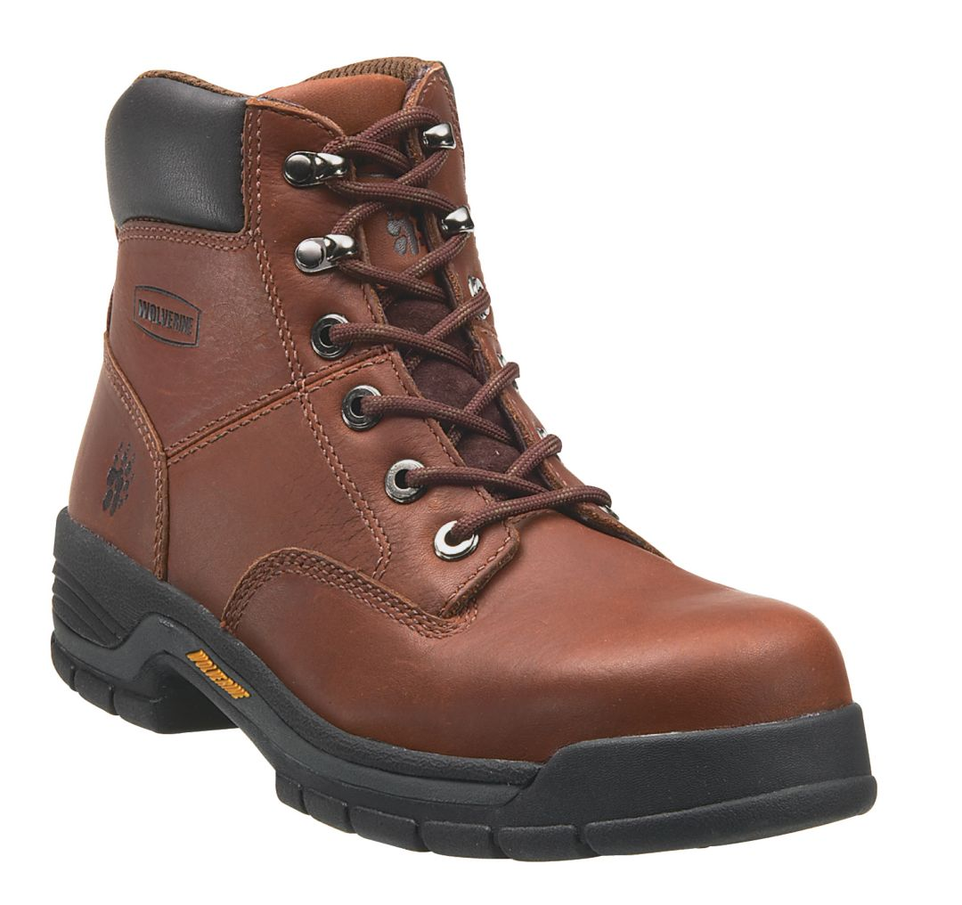 "42a796f54019c2 Wolverine Men's Harrison 6"" Steel Toe Work Boots 