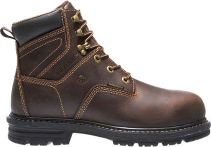 720b8a25d786 Wolverine Men s Nolan 6   Waterproof Composite Toe Work Boots ...