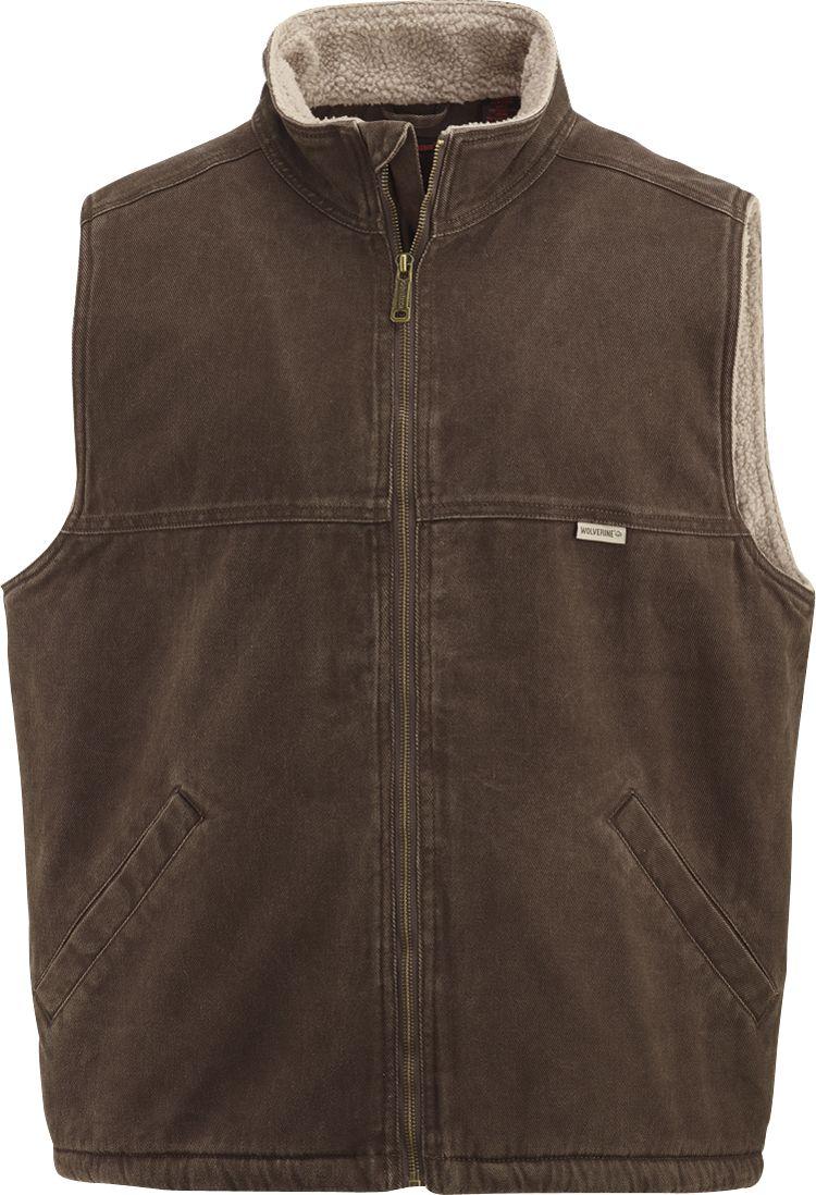 Wolverine Men's Upland Vest, Size: Medium, Bison thumbnail