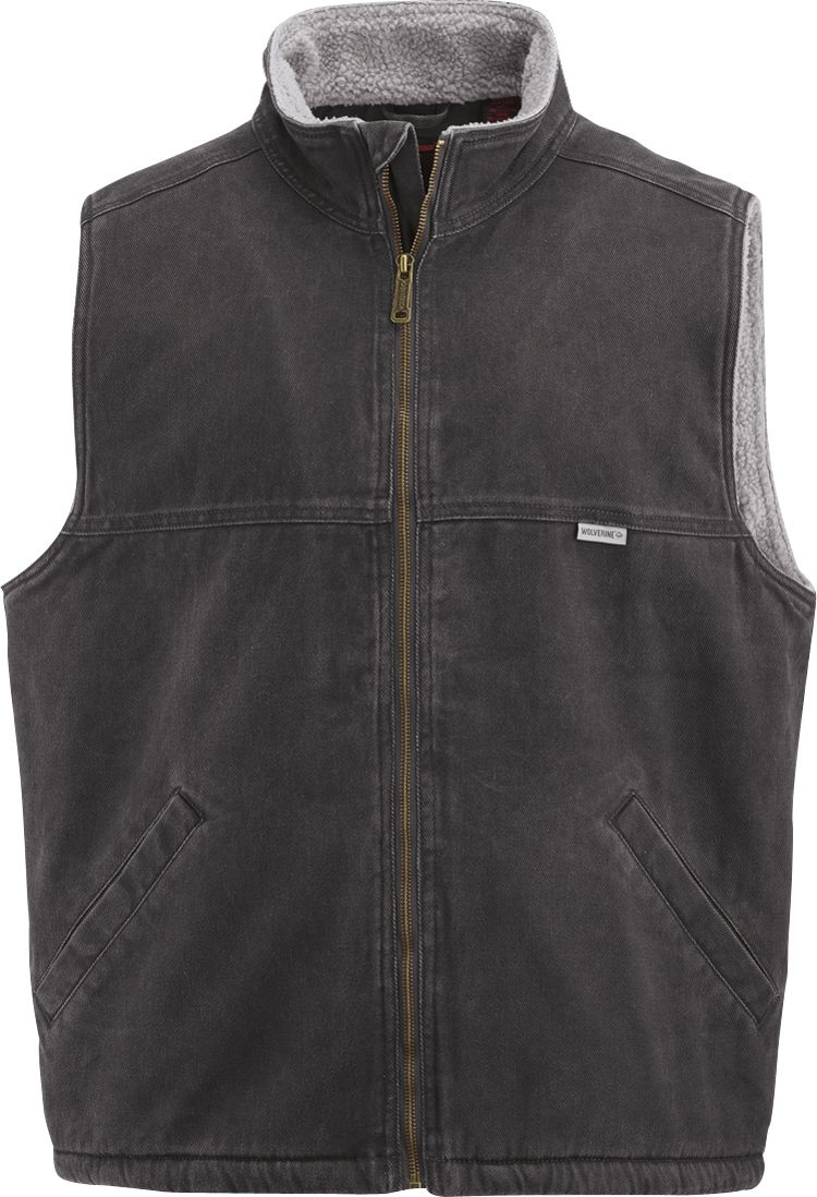 Wolverine Men's Upland Vest, Size: LT, Black thumbnail