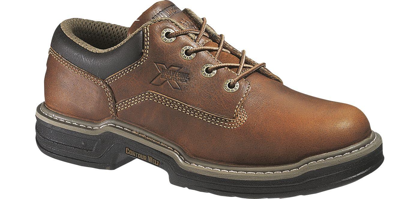 Wolverine Men's Raider Oxford Steel Toe Work Shoes