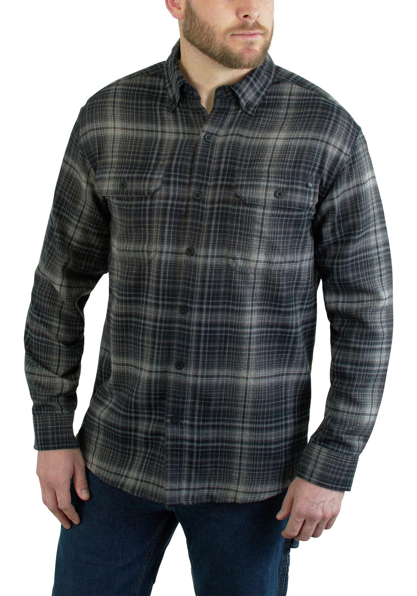 Wolverine Men's Escape Flannel Plaid Shirt