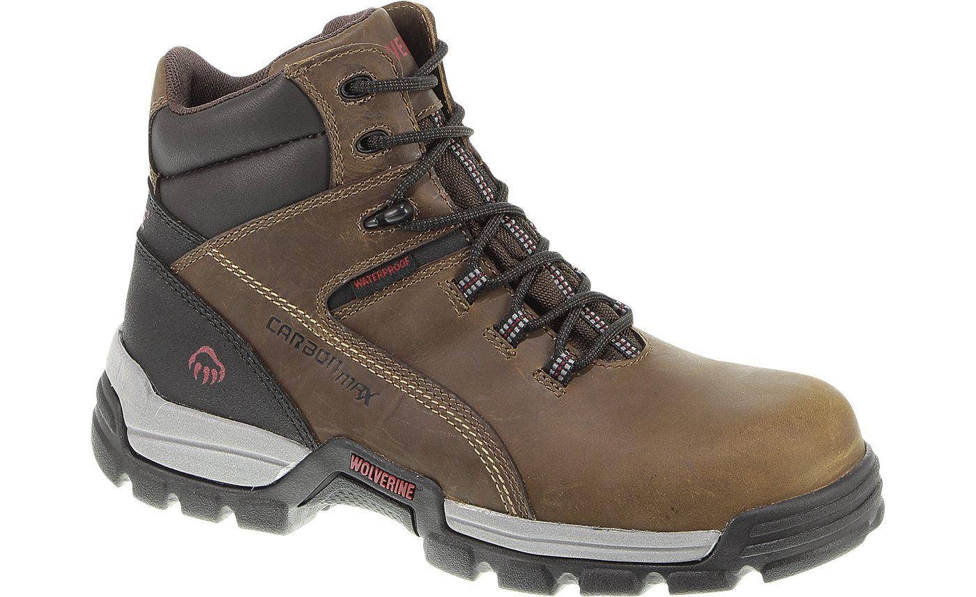 Wolverine Men's Tarmac Reflective 6'' Waterproof Composite Toe Work Boots