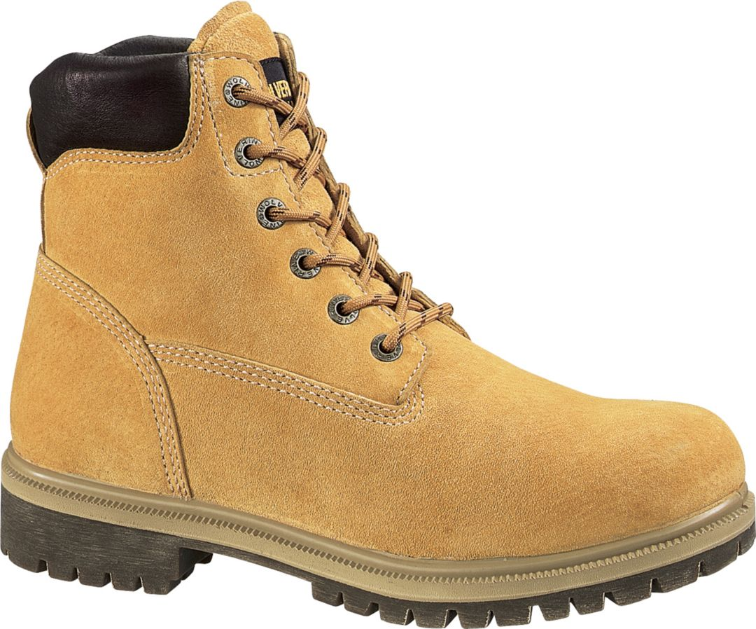 """77e242520a4 Wolverine Men's 6"""" Waterproof Insulated Work Boots"""