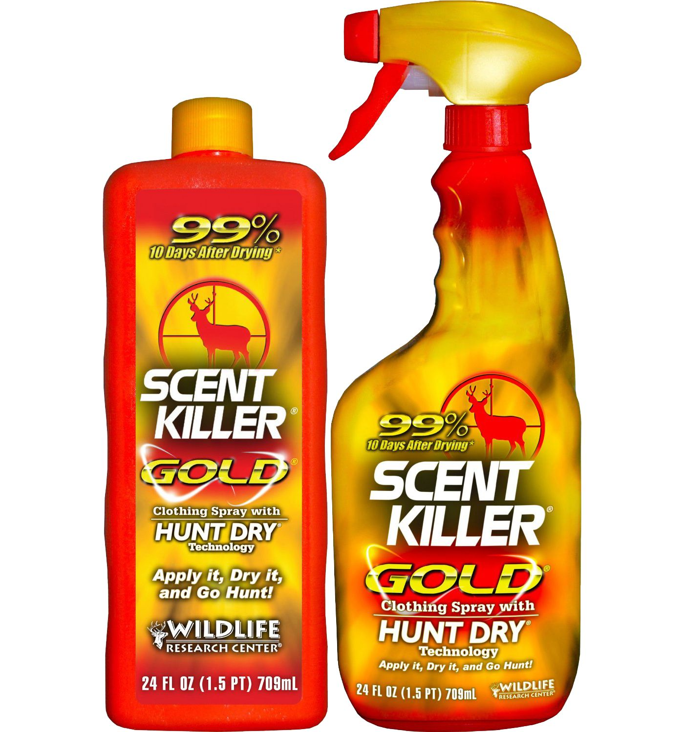 Wildlife Research Center Scent Killer Gold Spray and Refill