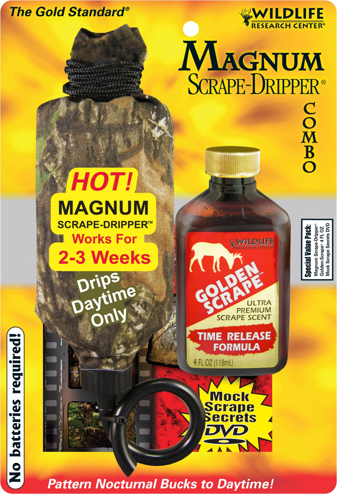Wildlife Research Center Magnum Dripper Combo - Golden Scrape thumbnail