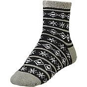 Yaktrax Women's Cozy Cabin Nordic Crew Socks