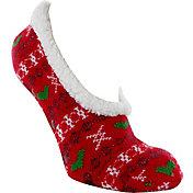 Yaktrax Women's Cabin Sock Cozy Slipper Socks