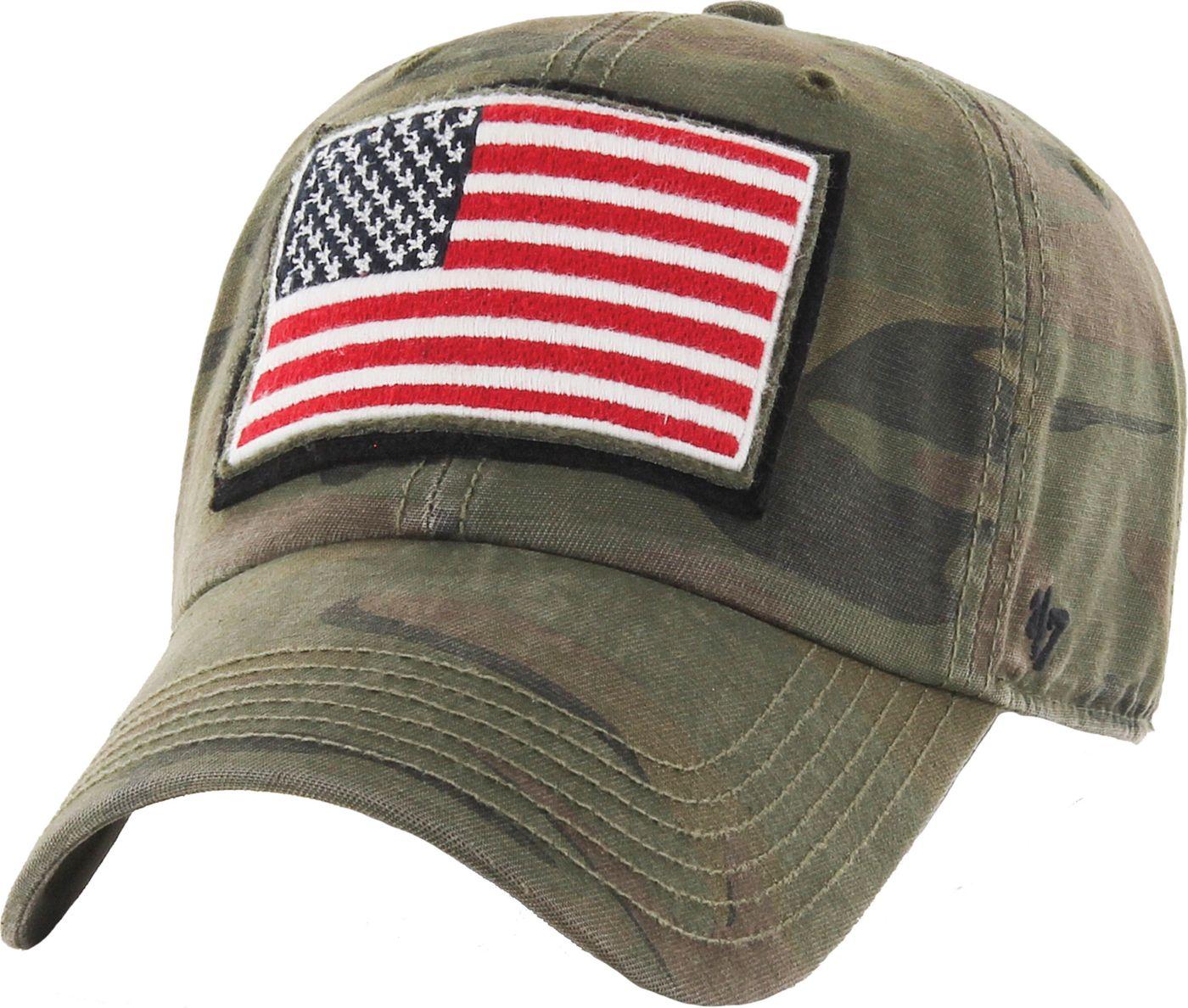'47 Men's USA Operation Hat Trick Camo Movement Clean Up Adjustable Hat