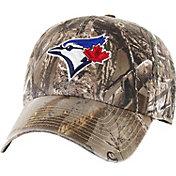 '47 Men's Toronto Blue Jays Realtree Camo Clean Up Adjustable Hat