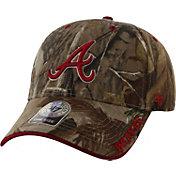 '47 Men's Atlanta Braves Realtree Camo Frost Adjustable Hat