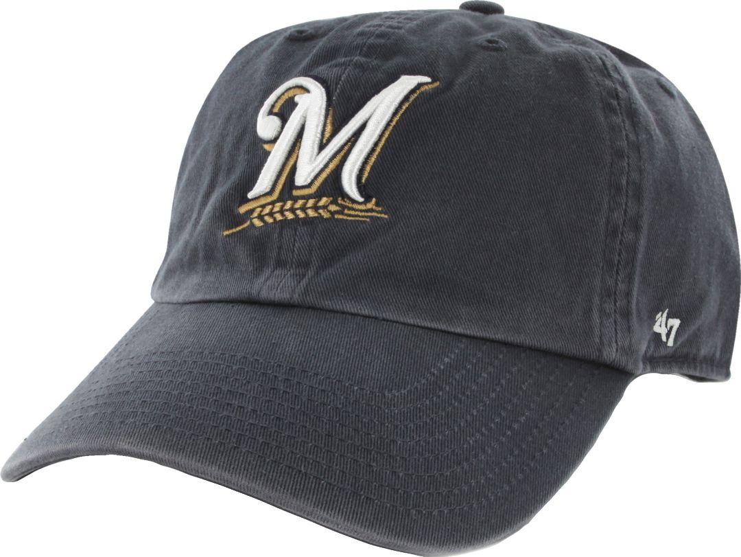 7df4e7043 '47 Men's Milwaukee Brewers Clean Up Navy Adjustable Hat