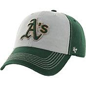 '47 Men's Oakland Athletics McGraw Clean Up Grey/Green Adjustable Hat