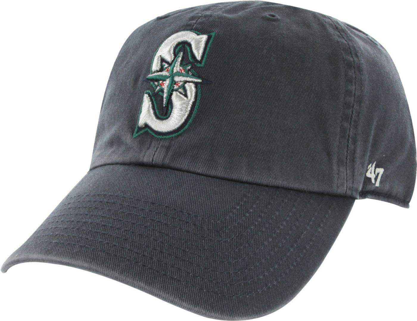 '47 Men's Seattle Mariners Clean Up Navy Adjustable Hat