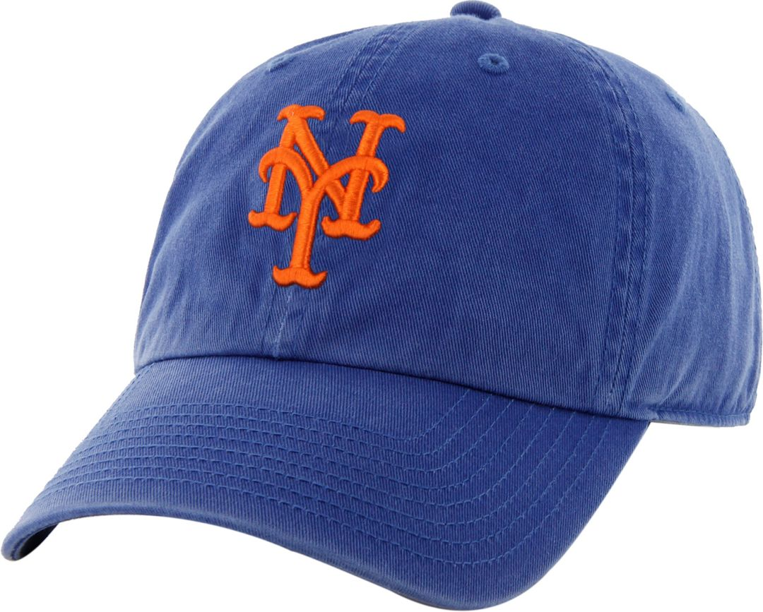 brand new 55057 26a63  47 Men s New York Mets Clean Up Royal Adjustable Hat 1.