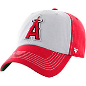 '47 Men's Los Angeles Angels McGraw Clean Up Red Adjustable Hat
