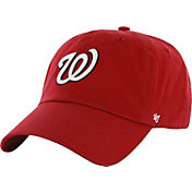 '47 Men's Washington Nationals Red Clean Up Adjustable Hat