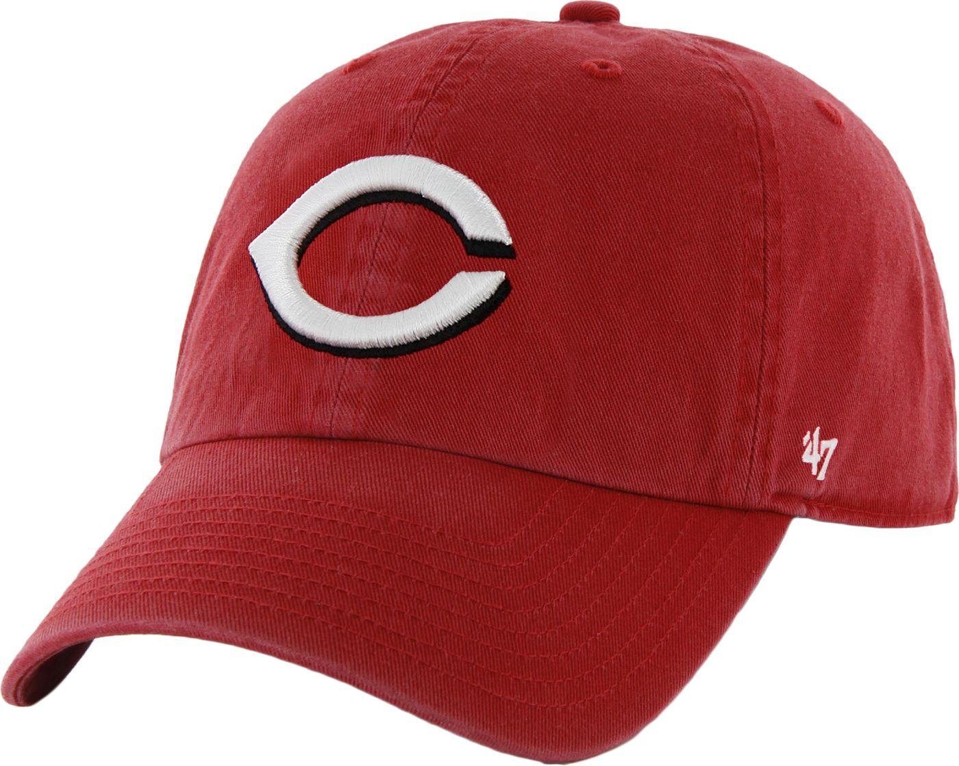 '47 Men's Cincinnati Reds Clean Up Red Adjustable Hat