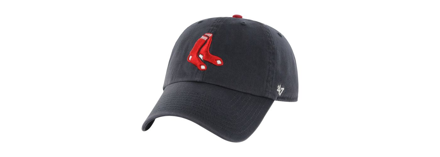 '47 Men's Boston Red Sox Navy Clean Up Adjustable Hat