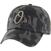 '47 Men's Baltimore Orioles Flintlock Franchise Camo Fitted Hat