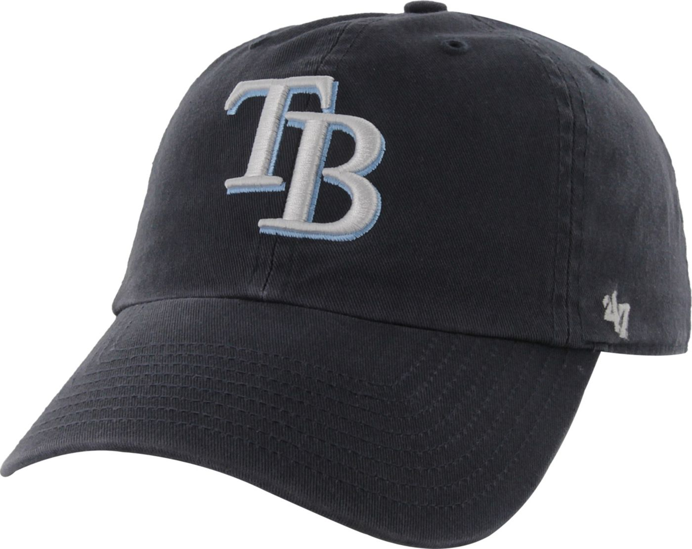 '47 Men's Tampa Bay Rays Clean Up Navy Adjustable Hat
