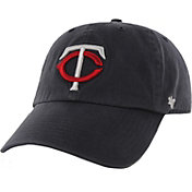 '47 Men's Minnesota Twins Navy Clean Up Adjustable Hat