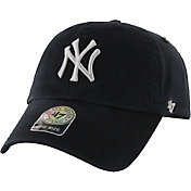 '47 Men's New York Yankees Clean Up Black Adjustable Hat