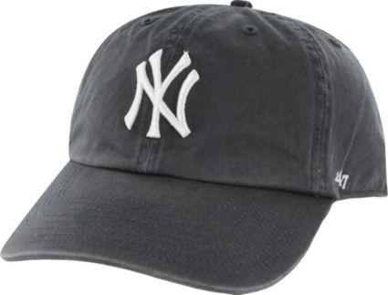 47 New York Yankees Navy Clean Up Adjustable Hat. noImageFound 4880062b917