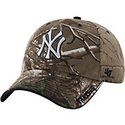 '47 Men's New York Yankees Realtree Camo Adjustable Hat
