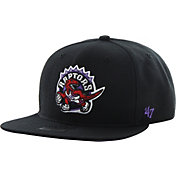 '47 Men's Toronto Raptors Shaft Black Adjustable Snapback Hat
