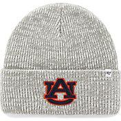 '47 Men's Auburn Tigers Heathered Grey Brain Freeze Cuffed Knit