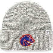 '47 Men's Boise State Broncos Heathered Grey Brain Freeze Cuffed Knit