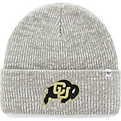 '47 Men's Colorado Buffaloes Heathered Grey Brain Freeze Cuffed Knit