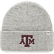 '47 Men's Texas A&M Aggies Heathered Grey Brain Freeze Cuffed Knit