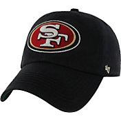 '47 Men's San Francisco 49ers Franchise Fitted Black Hat